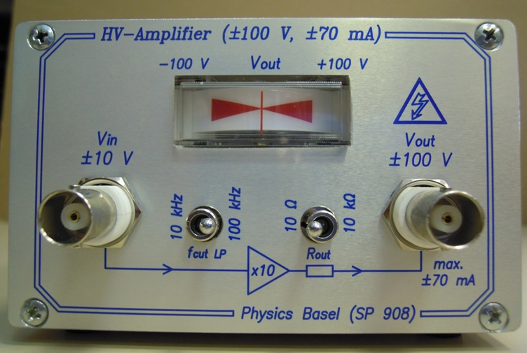 HV-Amplifier (SP 908)